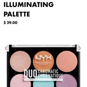 NYX Duo Chromatic Illuminating Palette